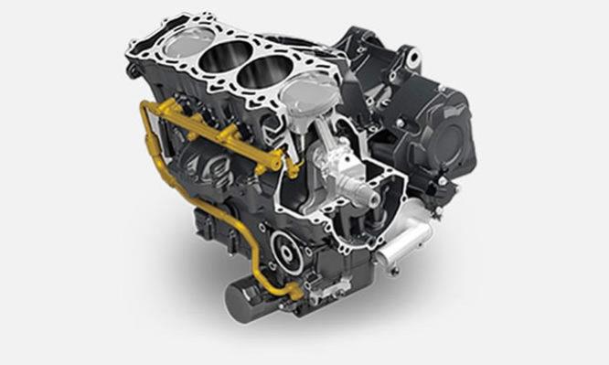 Le moteur - La centrale du 2 roues
